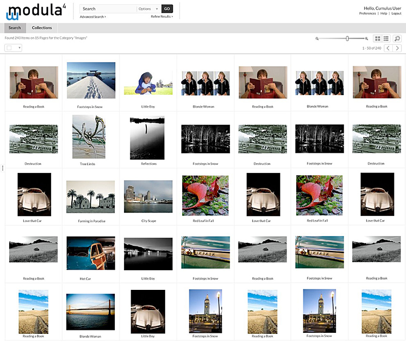 Modula4 - Web Module Product User Experience